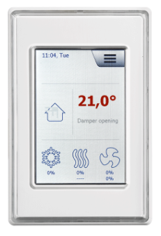 HMI touch for EXcon